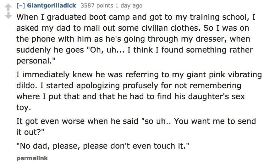 Awkard Conversations Parents 3