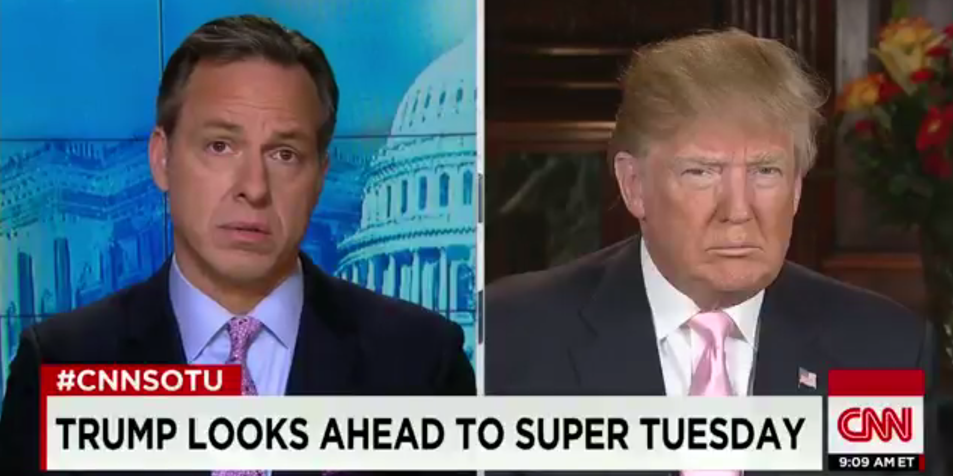Donald Trump Jake Tapper