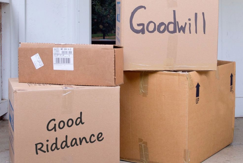 Goodwill Donations Valentine's Day