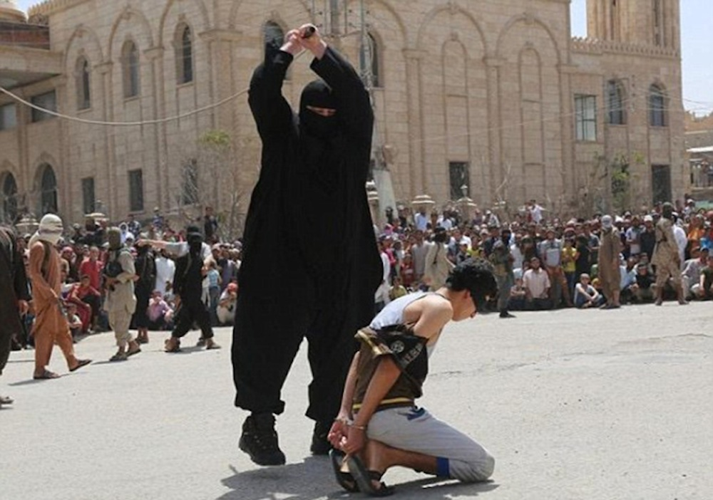 ISIS Beheading 15 Year Old