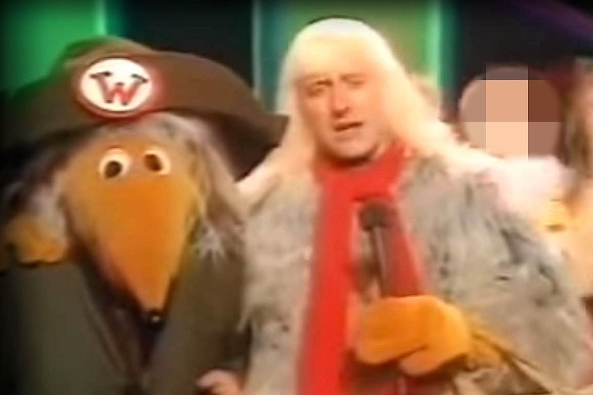 Jimmy Savile Womble