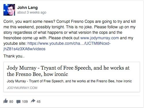 John Lang Facebook 1
