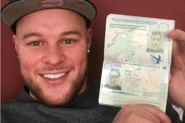 Josh Reed passport