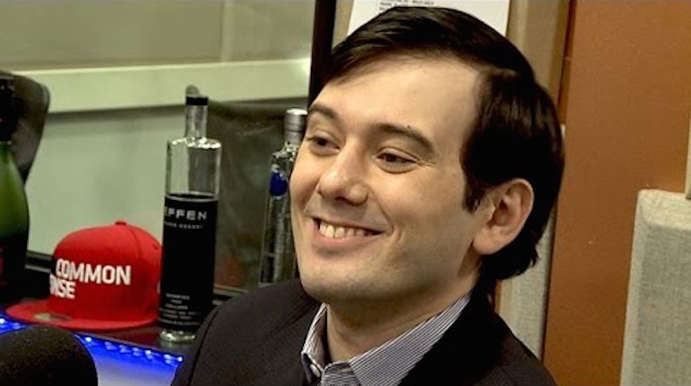 MArtin Shkreli The Breakfast Club