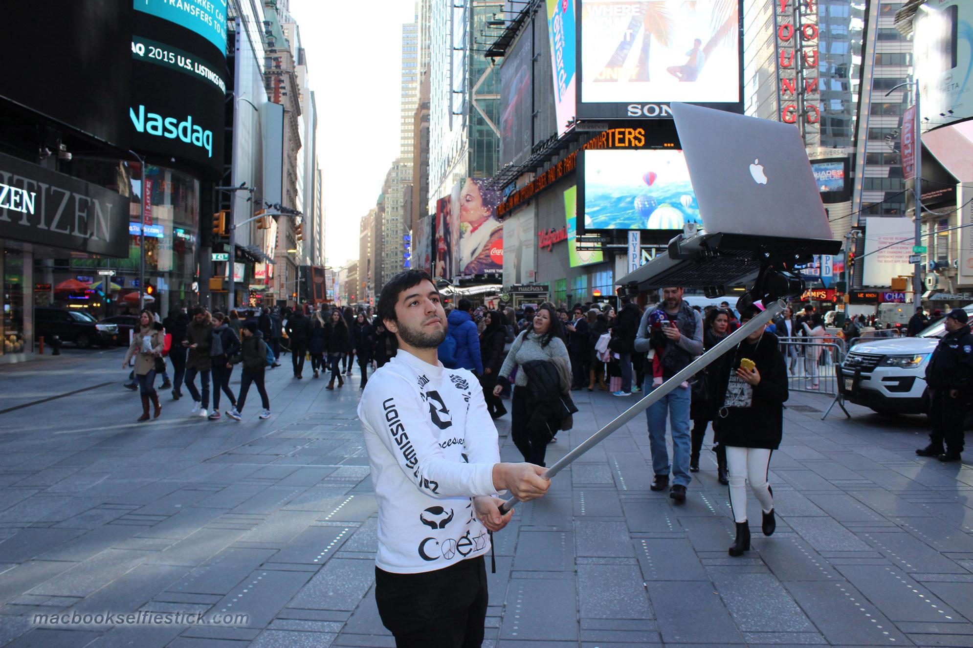 MacBook Selfie Stick 8