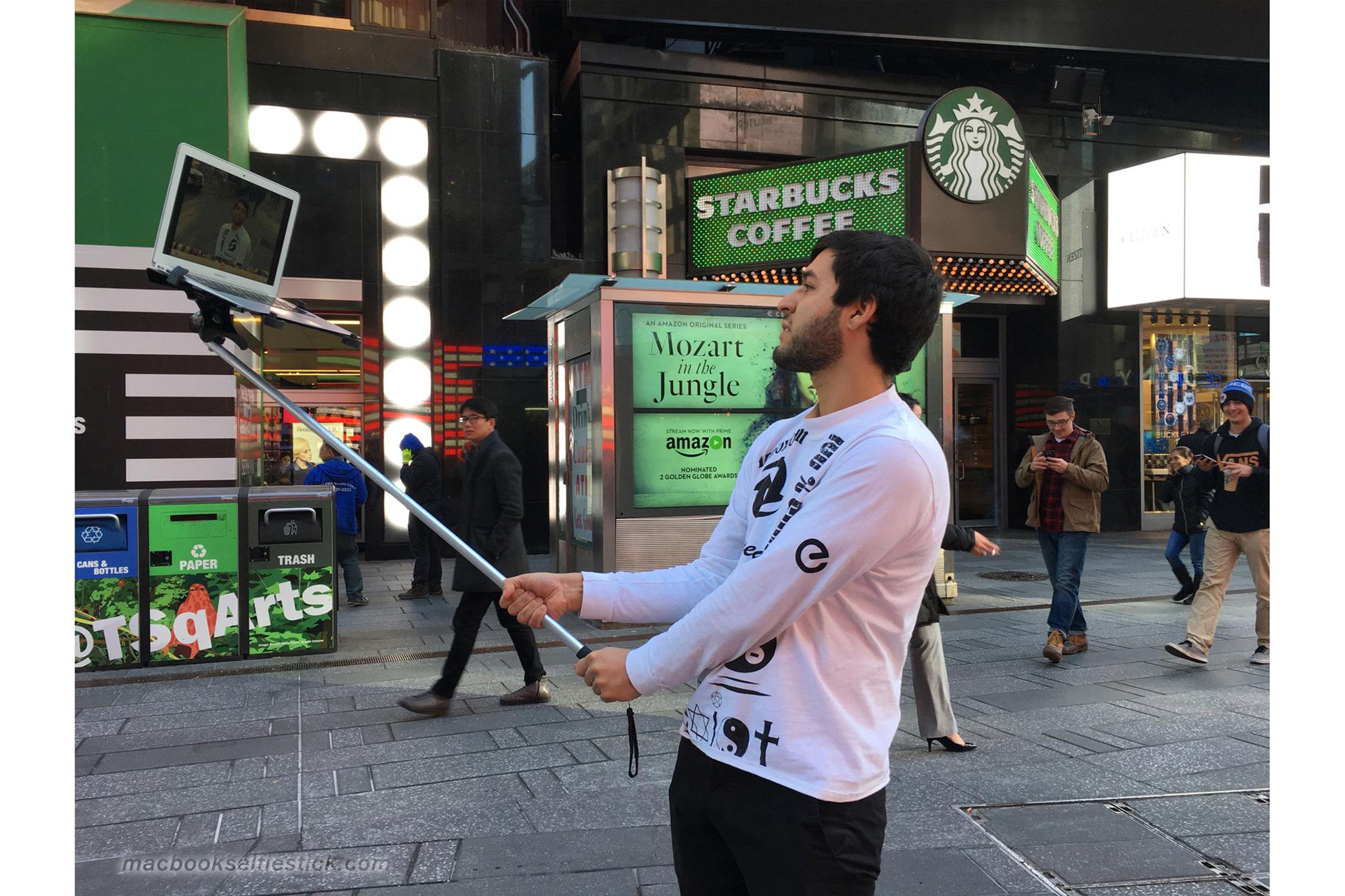 MacBook Selfie Stick 9