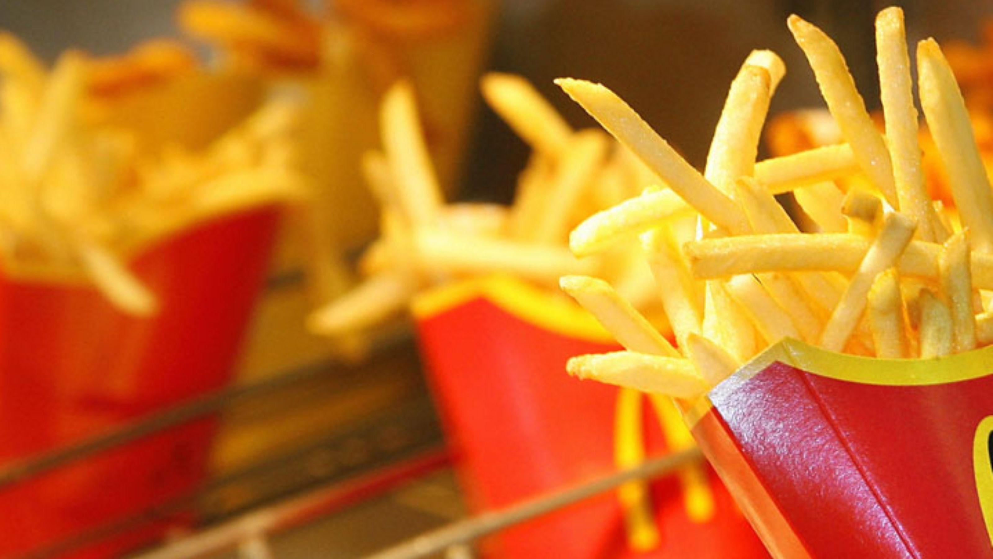 MaccyDs Fries