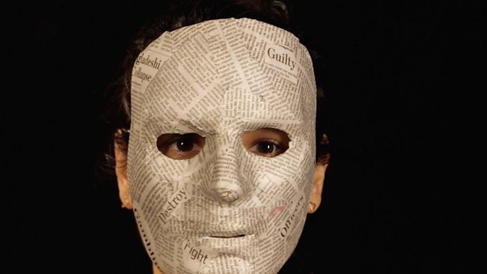 Masked Public School Teacher
