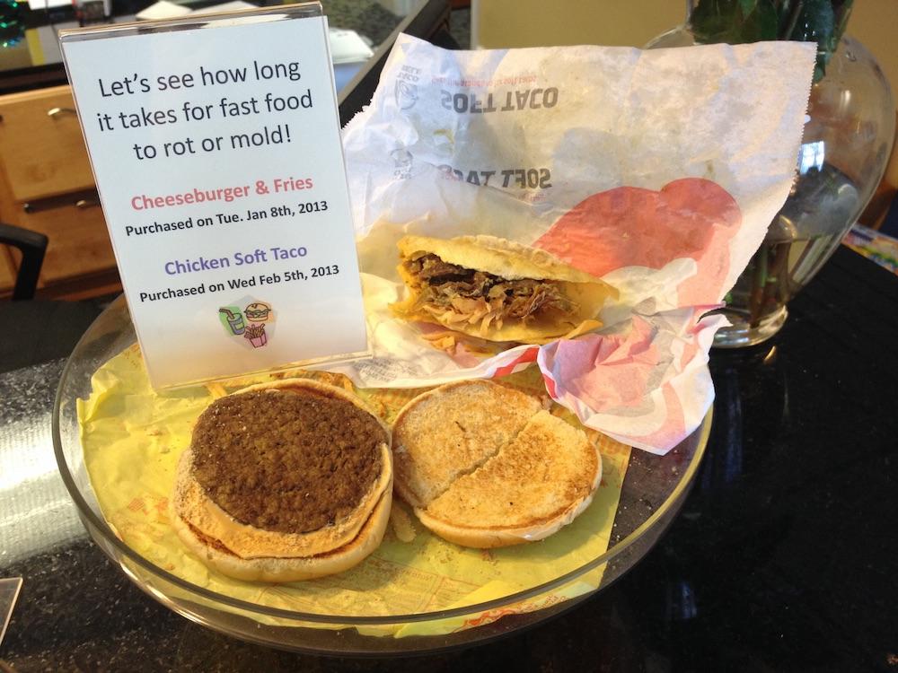 McDonald's Food Not Moulding
