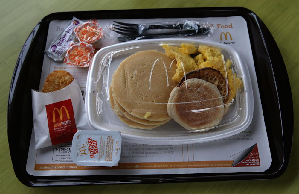 McDonald's The Big Breakfast