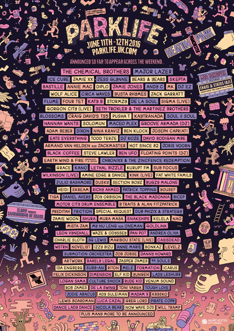 The Parklife 2016 Line Up Has Been Announced Hold Tight