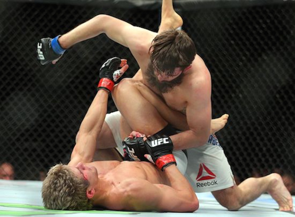 Sage Northcutt Tapped Out