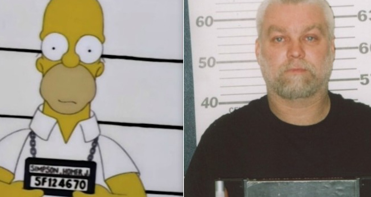 Simpsons Making A Murderer