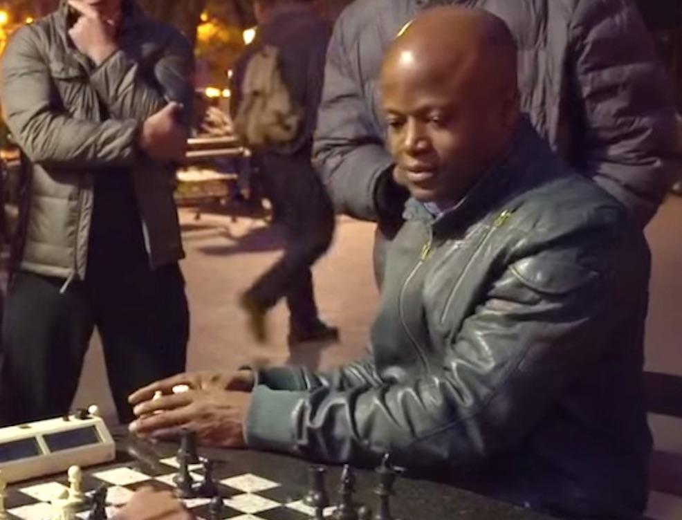 Undercover Chess Grandmaster