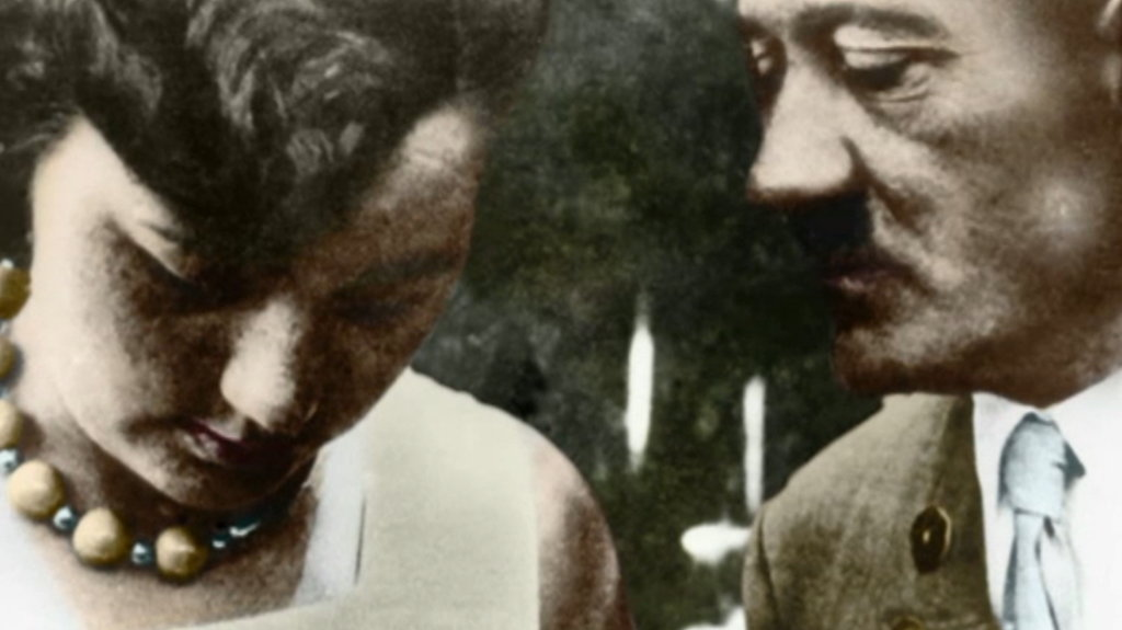 Adolf Hitler and Geli Raubal