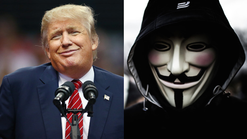 Anonymous vs Donald Trump