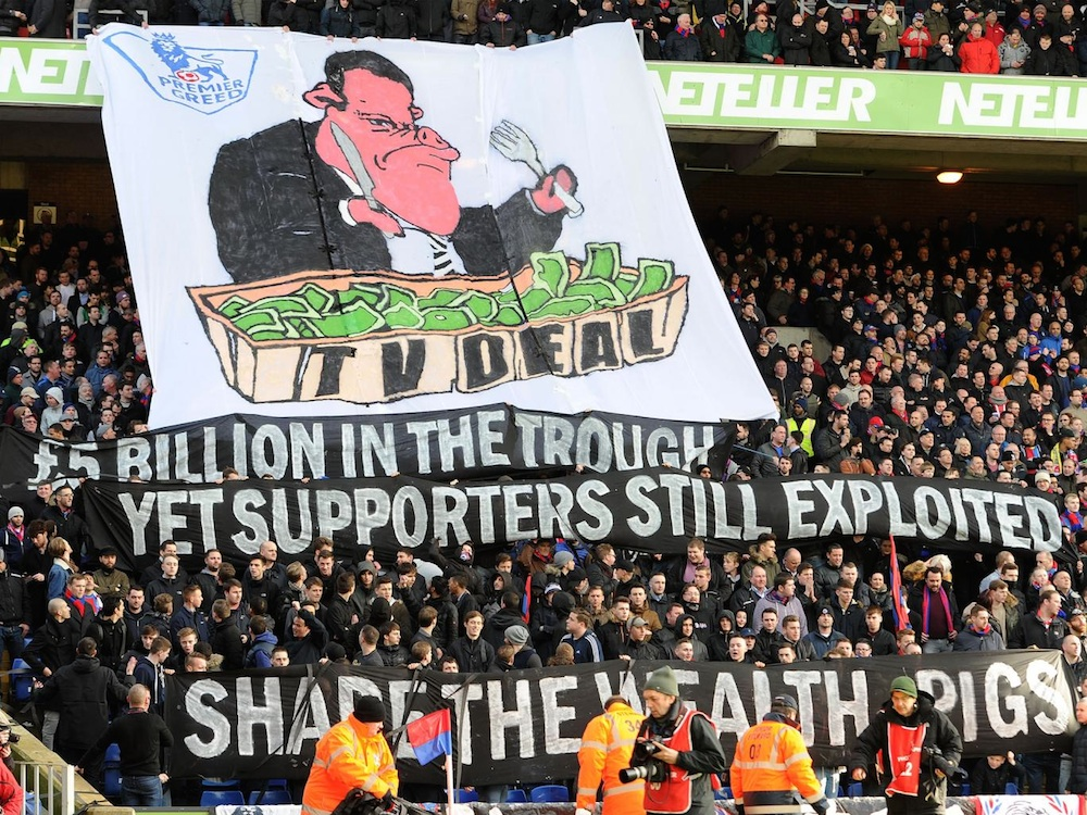 Away Ticket Prices Protest