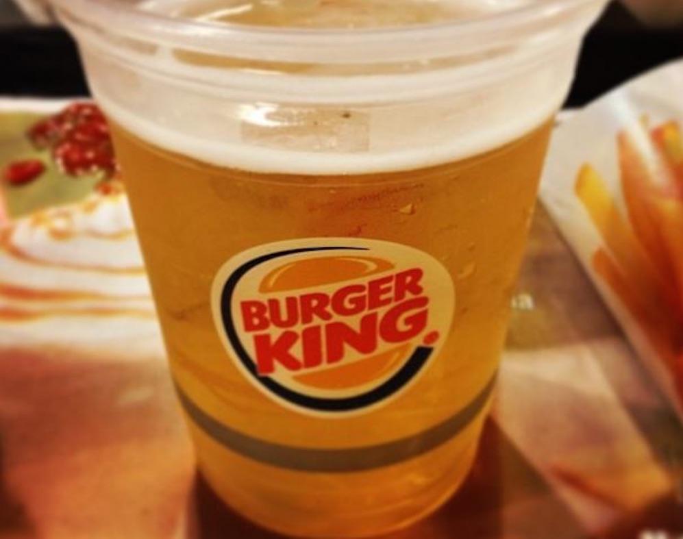 Burger King Booze