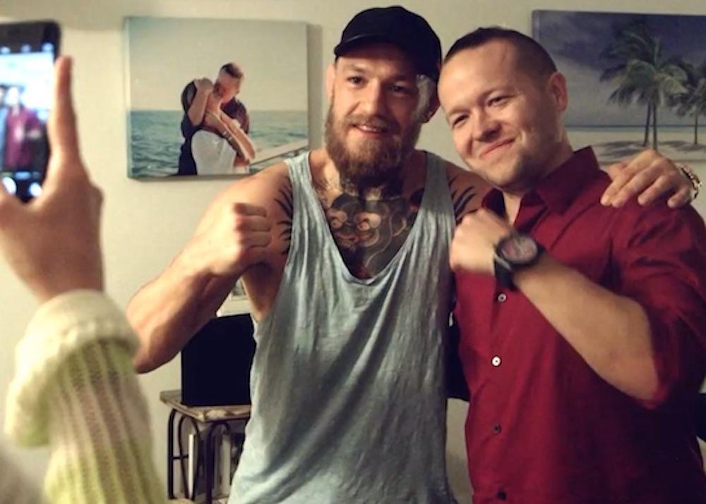 Conor McGregor Surprises Superfan