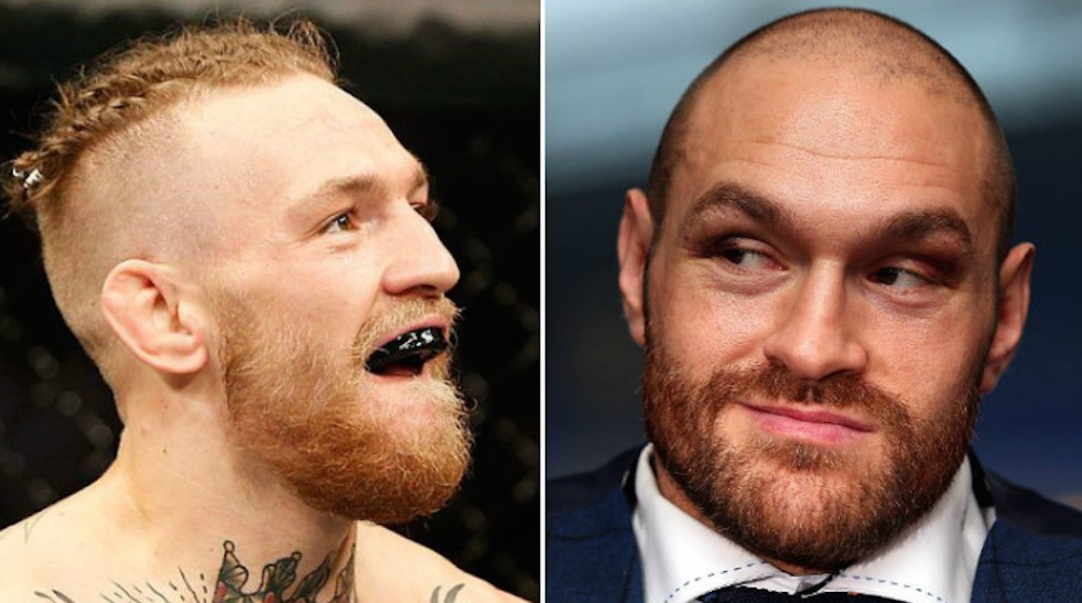 Conor McGregor Tyson Fury