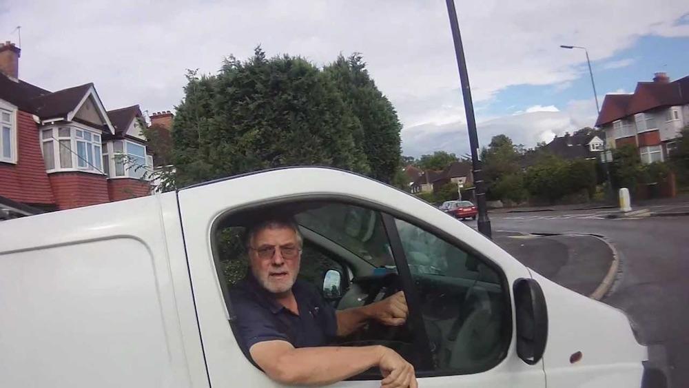 Driver Swearing
