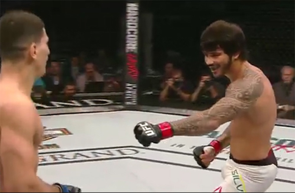 Erick Silva Cheap Shot