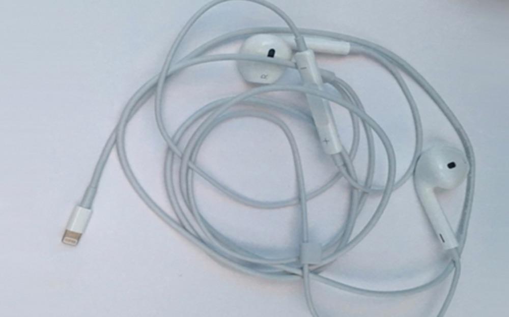 Headphones Lightning Port