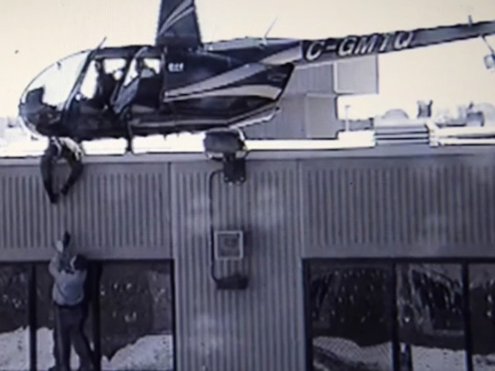 Helicopter Escape Prison