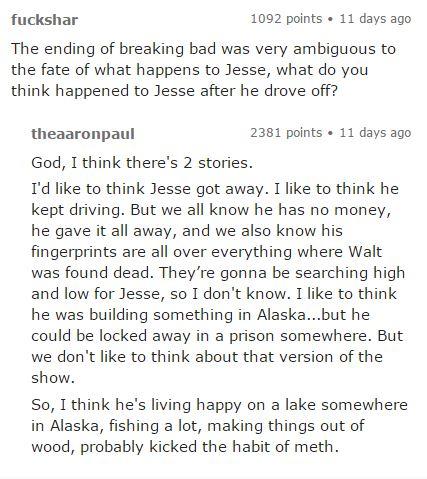 Jesse Pinkman Future