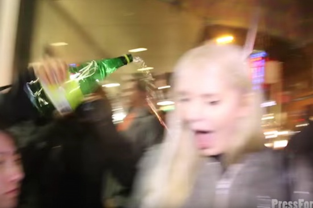 Lauren Southern Bottle Of Piss