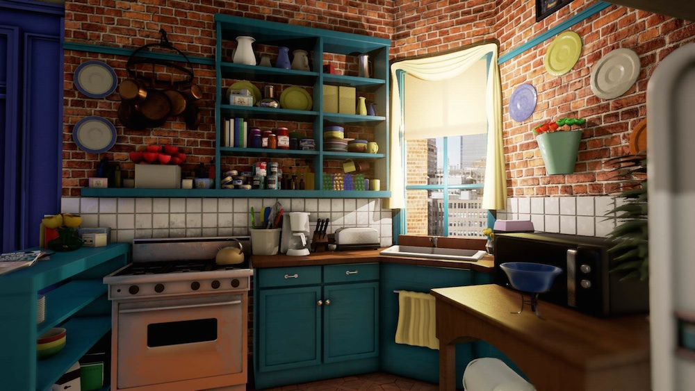 Monica's Apartment Unreal 4