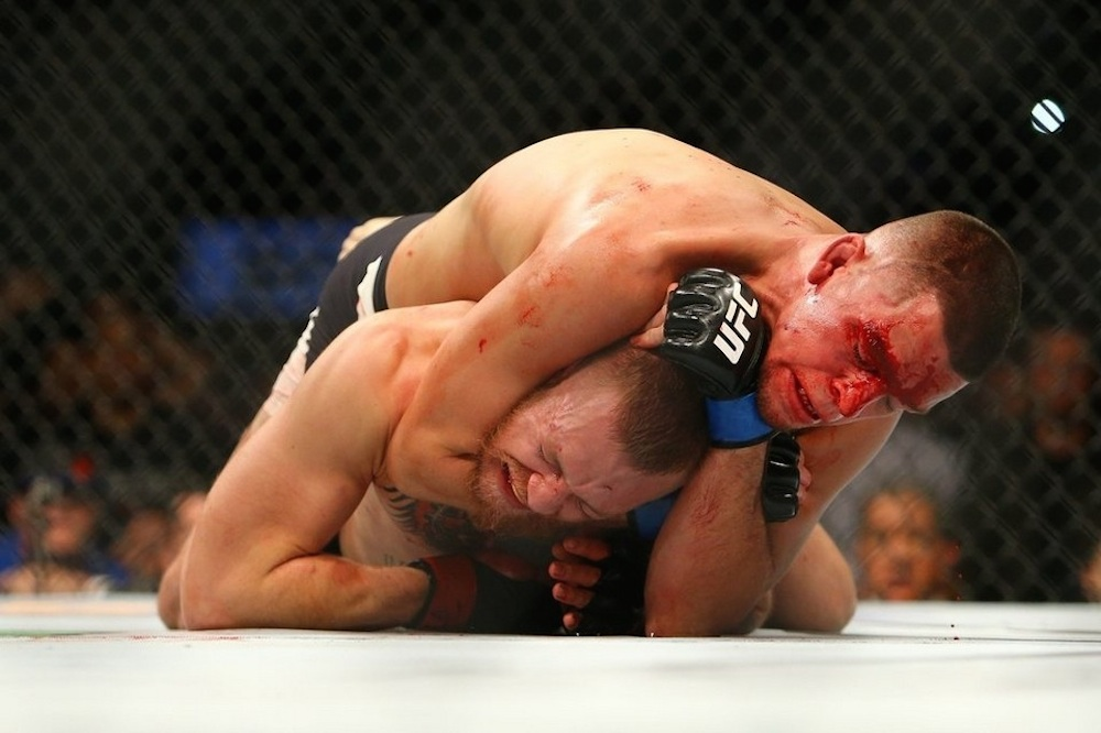 Nate Diaz Conor McGreogor Submission