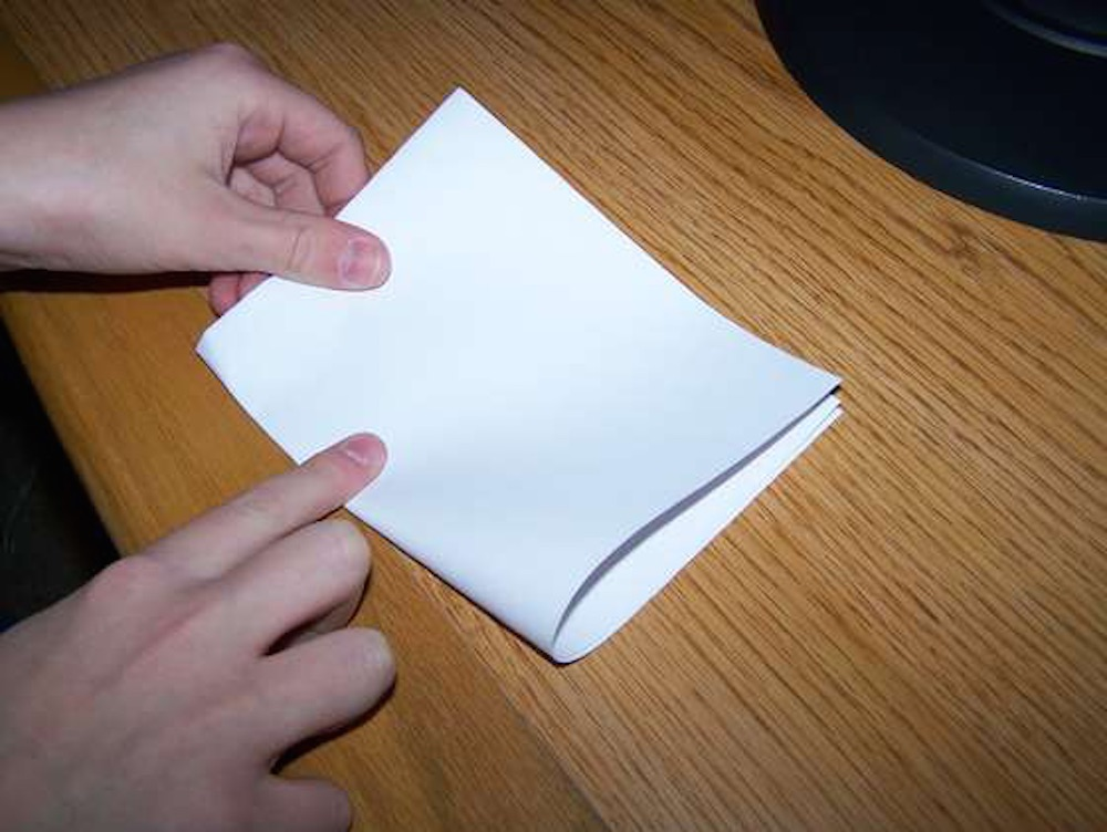 Piece Of Paper Folded