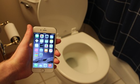 Iphone Toilet