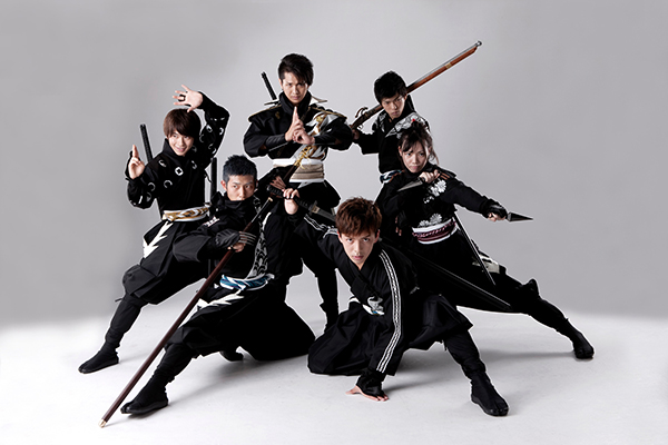 """This handout photo provided by Aichi prefecture government tourism bureau shows six full-time ninjas posing in Nagoya Central Japan's Aichi prefecture said March 11, 2016 it is hiring full-time ninjas -- the martial-arts masters and stealth special assassins of feudal times -- to promote tourism in the area known for historic Nagoya castle. / AFP PHOTO / Tourism Bureau, Aichi Prefecturl Government / TOURISM BUREAU, AICHI PREFECTURL GOVERNMENT / RESTRICTED TO EDITORIAL USE - MANDATORY CREDIT """"AFP PHOTO / BMI"""" - NO MARKETING NO ADVERTISING CAMPAIGNS - DISTRIBUTED AS A SERVICE TO CLIENTS == NO ARCHIVE / / XGTY / RESTRICTED TO EDITORIAL USE - MANDATORY CREDIT """"AFP PHOTO / TOURISM BUREAU, AICHI PREFECTURL GOVERNMENT"""" - NO MARKETING NO ADVERTISING CAMPAIGNS - DISTRIBUTED AS A SERVICE TO CLIENTS == NO ARCHIVE"""