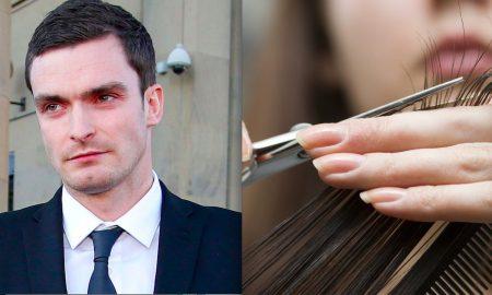 Adam Johnson Hairdresser