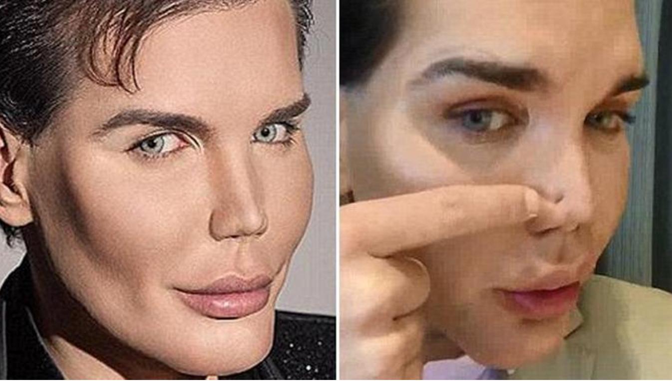 That man ken doll plastic surgery very