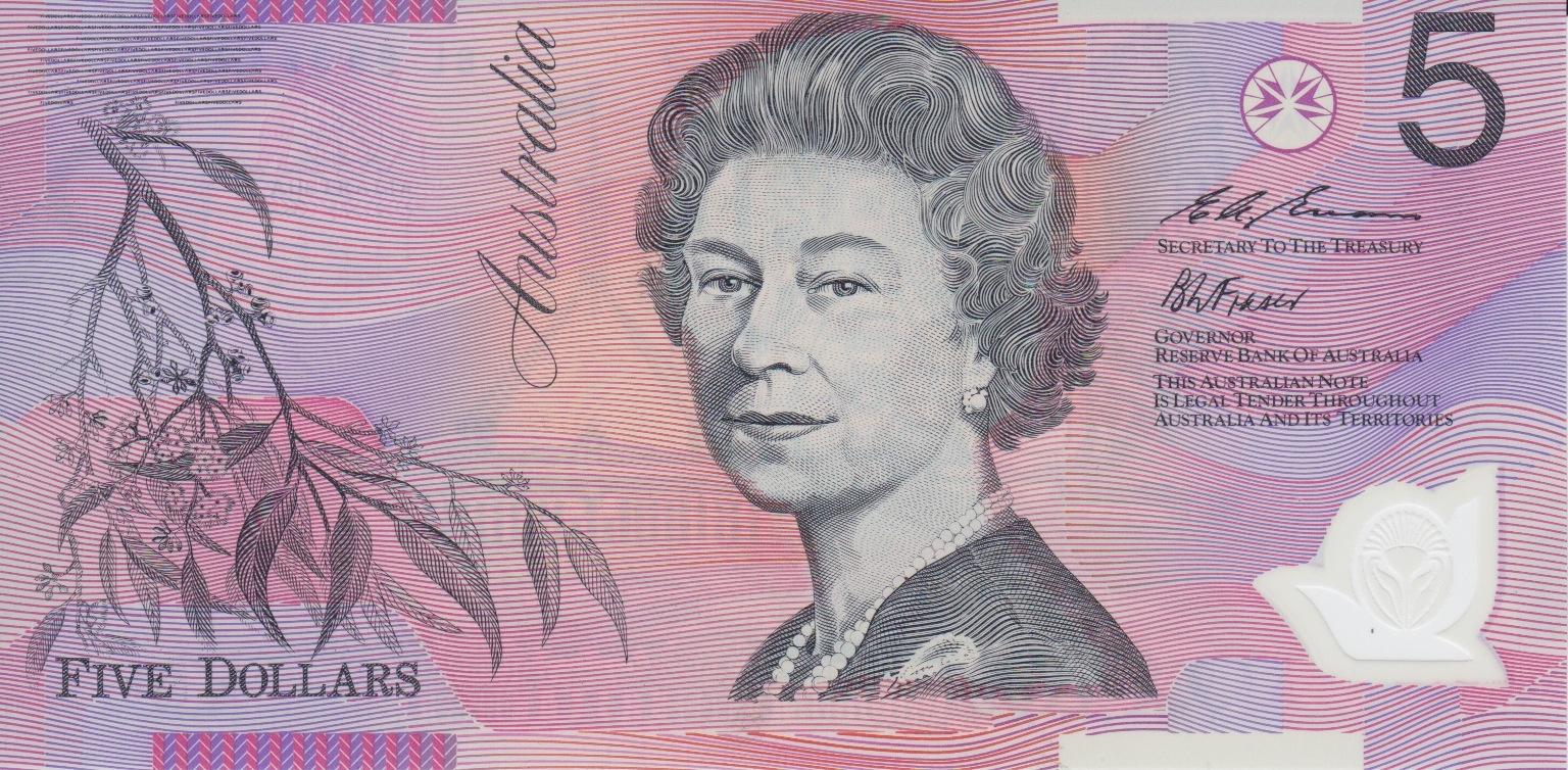 Australia $5 note