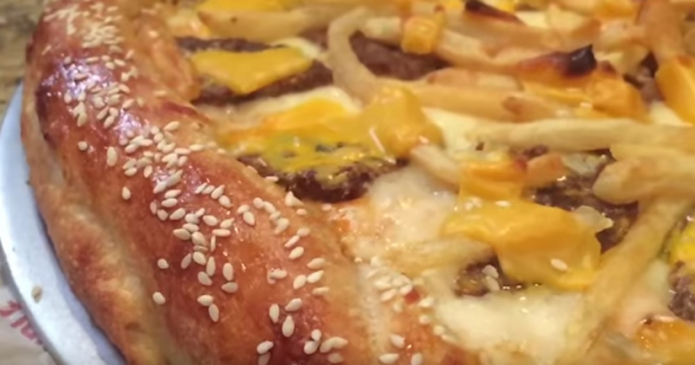 Big Mac Pizza