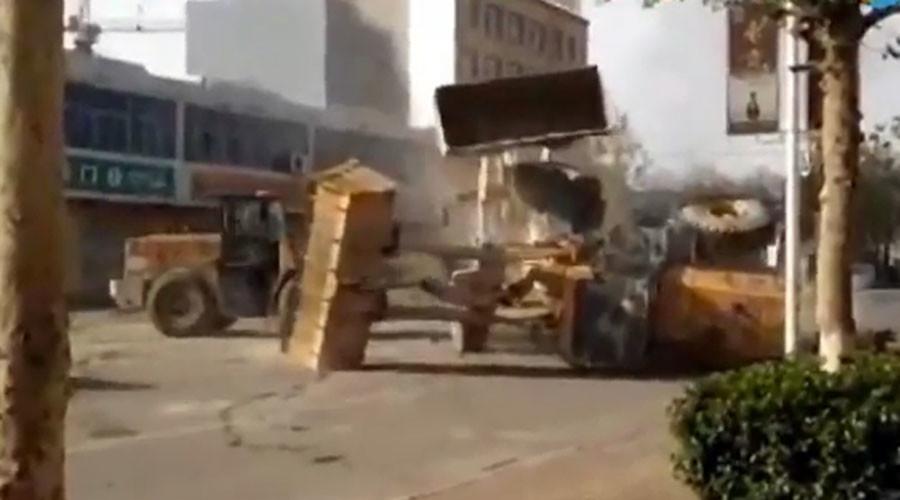 Bulldozer Battle