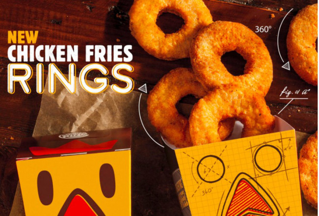 Chicken Ring Fries Featured