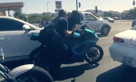 Cops Motorcyclist