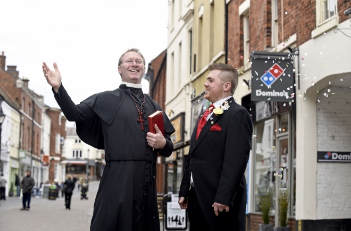 Dominos Manager Marrying Town