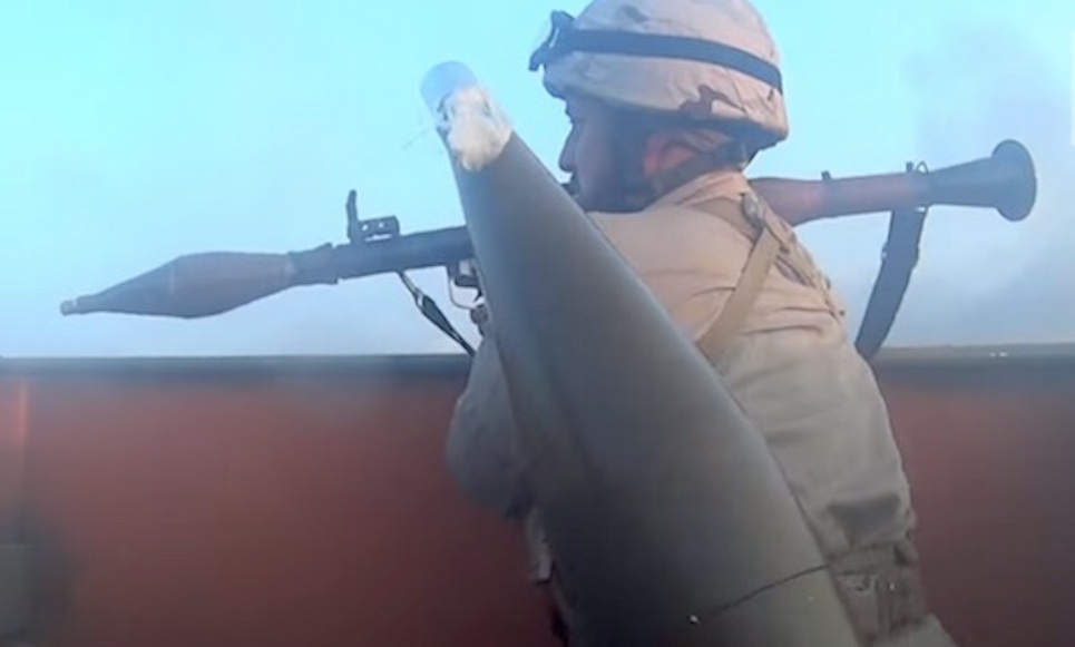 ISIS Fighter Front Line
