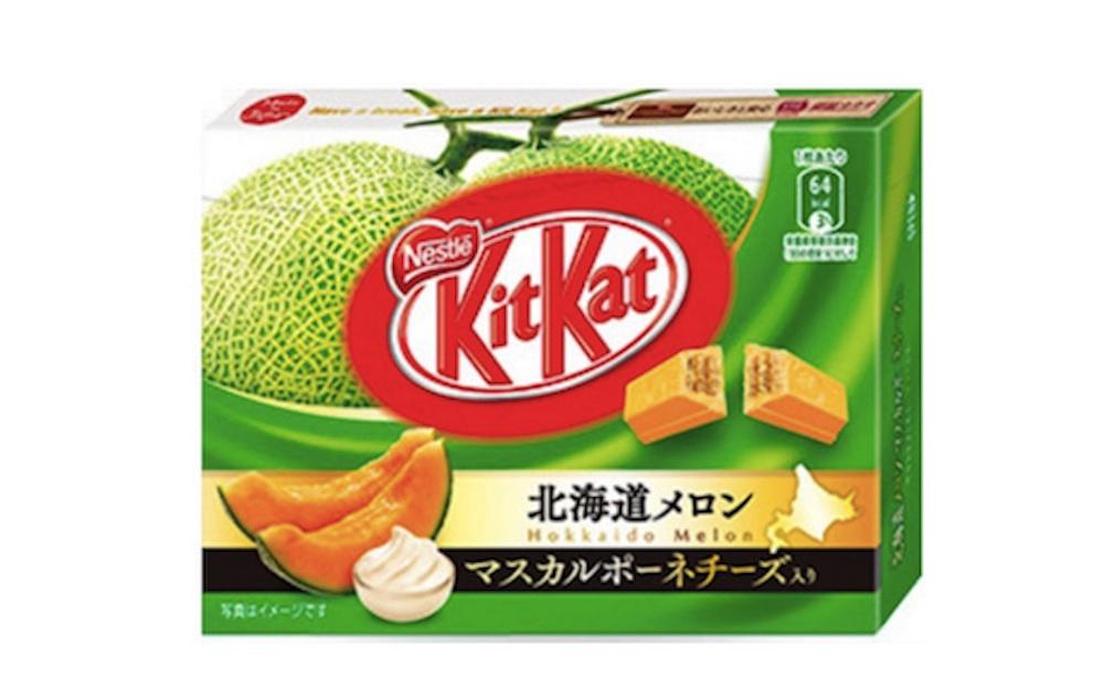 Melon and cheese kit kat