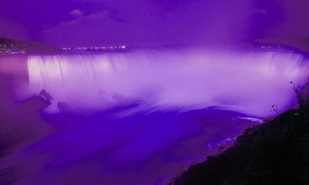 Niagara Falls Purple