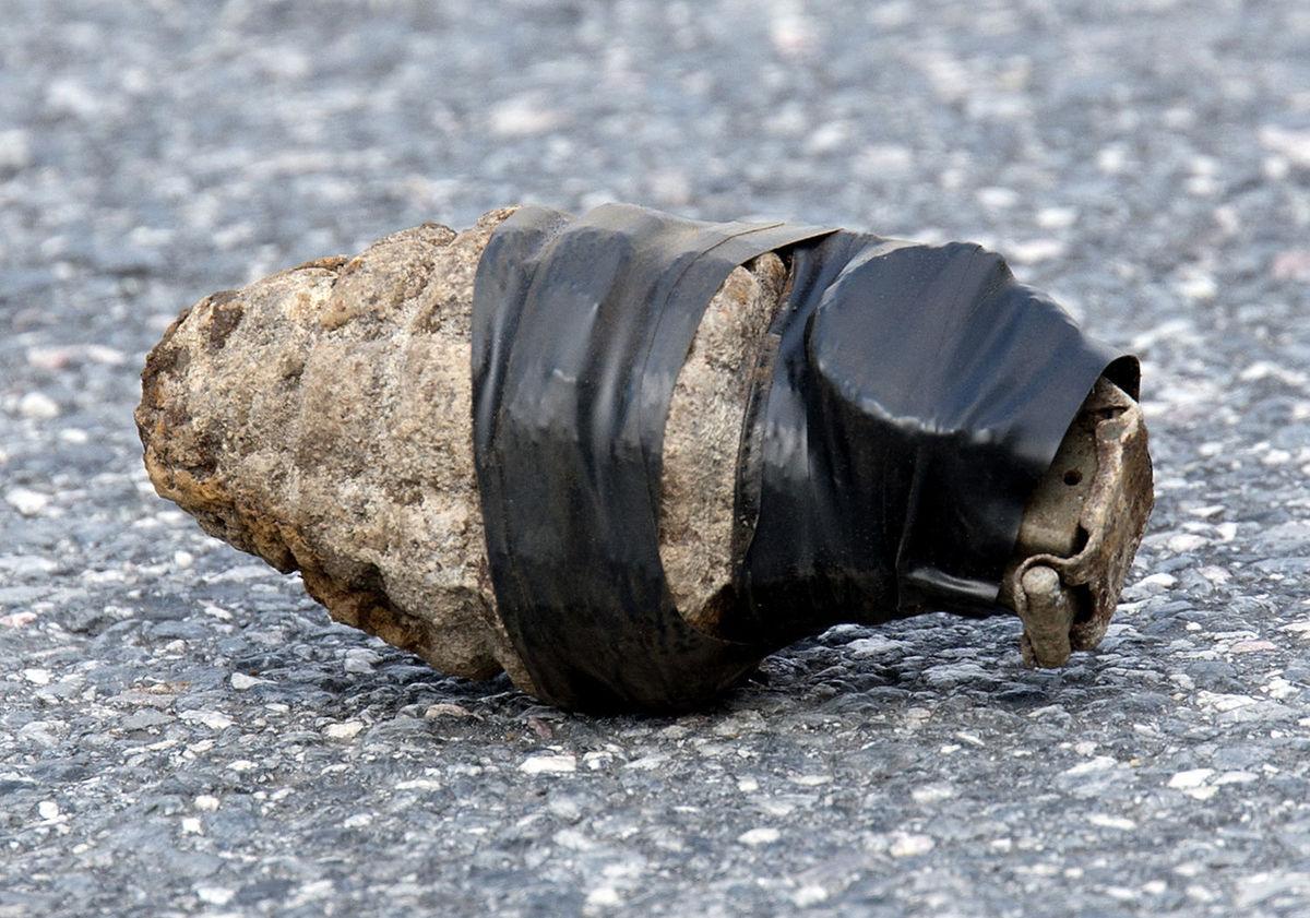 Old Hand Grenade