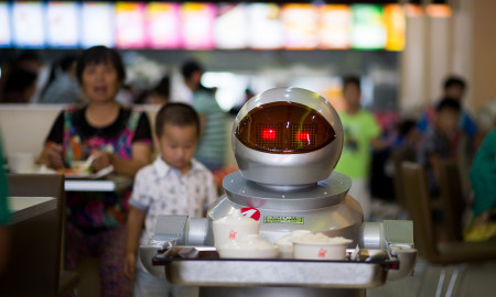 CHINA-ROBOTS-RESTAURANT