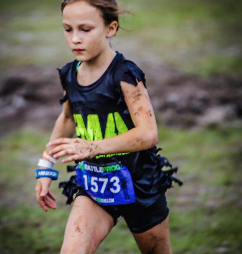 Badass 9 Year Old Navy Seal Race