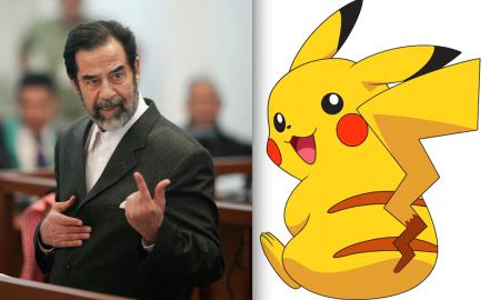 Saddam Hussein Pikachu